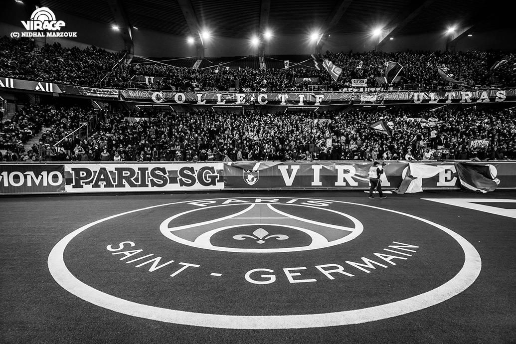 Parc des Princes Virage Auteuil Cup Virage PSG De l'intérieur