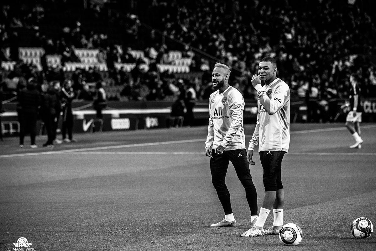 Neymar Mbappe De l'intérieur #3 Virage PSG
