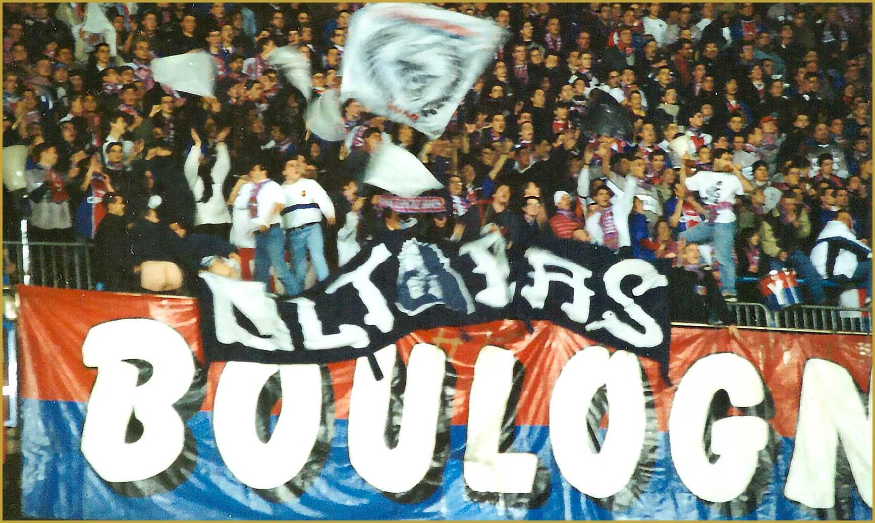 Zavatt Boulogne Boys Virage PSG