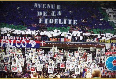 Virage Auteuil - PSG/AC Milan - 20 février 2001