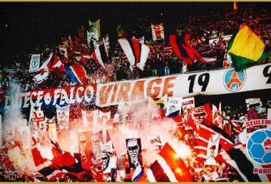 Virage Auteuil - PSG/Racing Club de Strasbourg - 22 juillet 2000