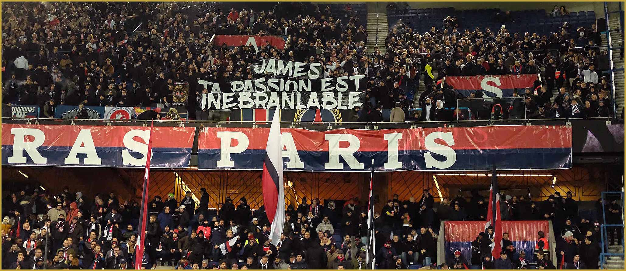 ITW James Rophe Virage PSG