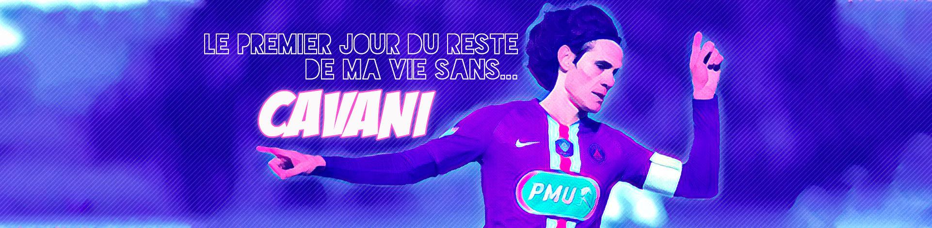 Edi Cavani Virage PSG