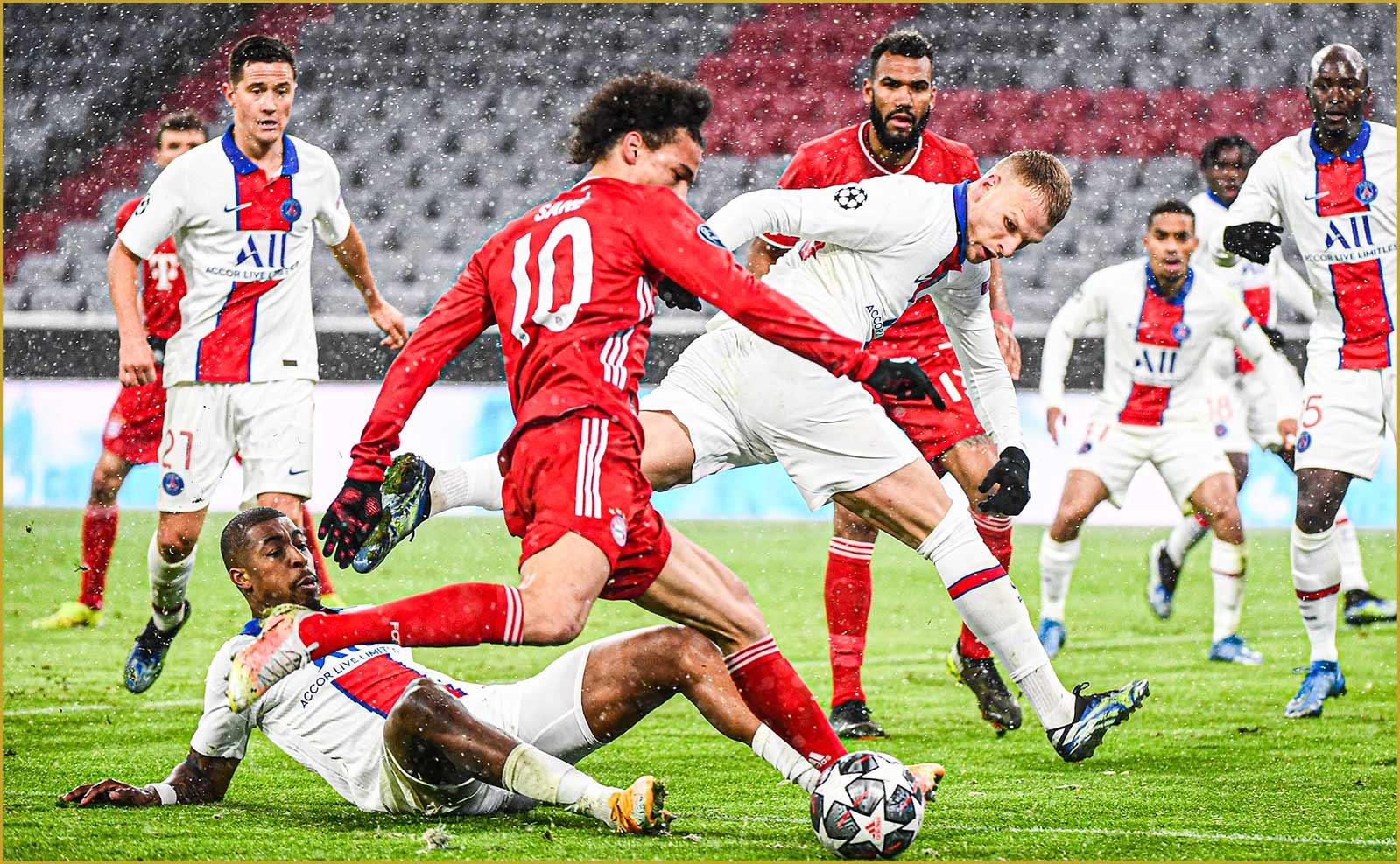 Bakker PSG Bayern Virage