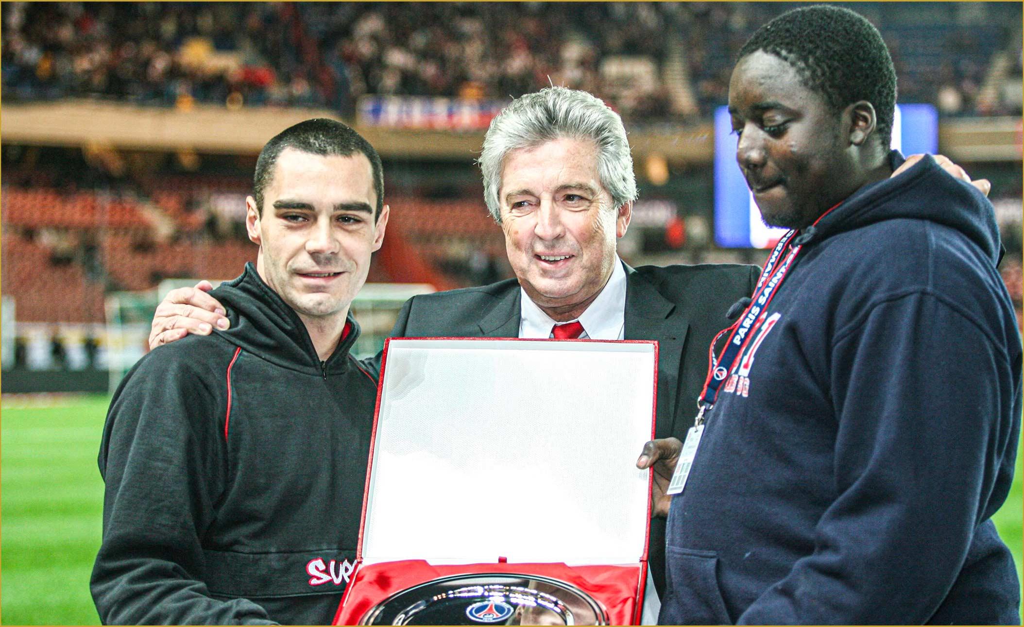 Alain Cayzac Virage PSG