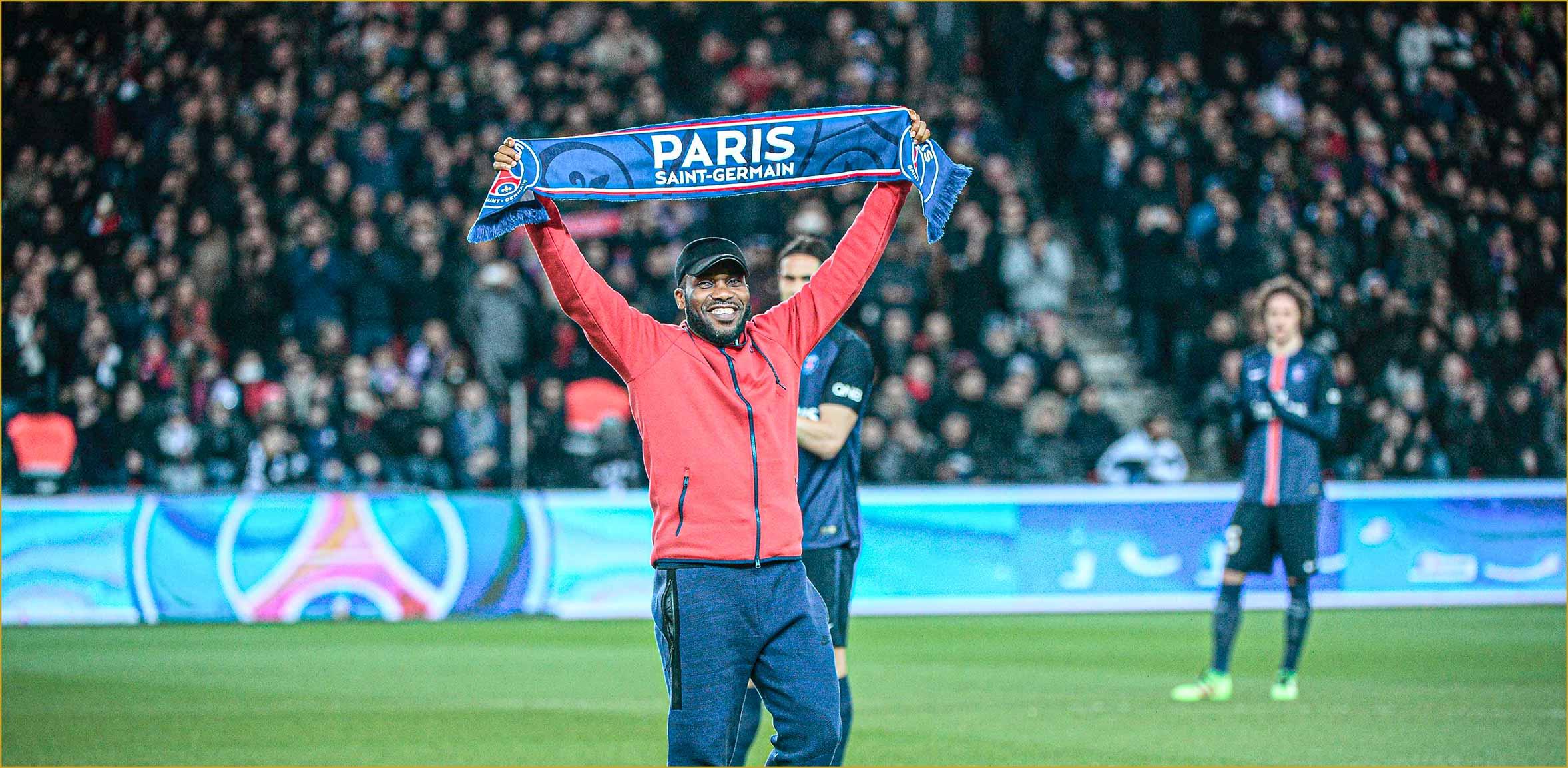 Jay Jay Okocha Virage PSG