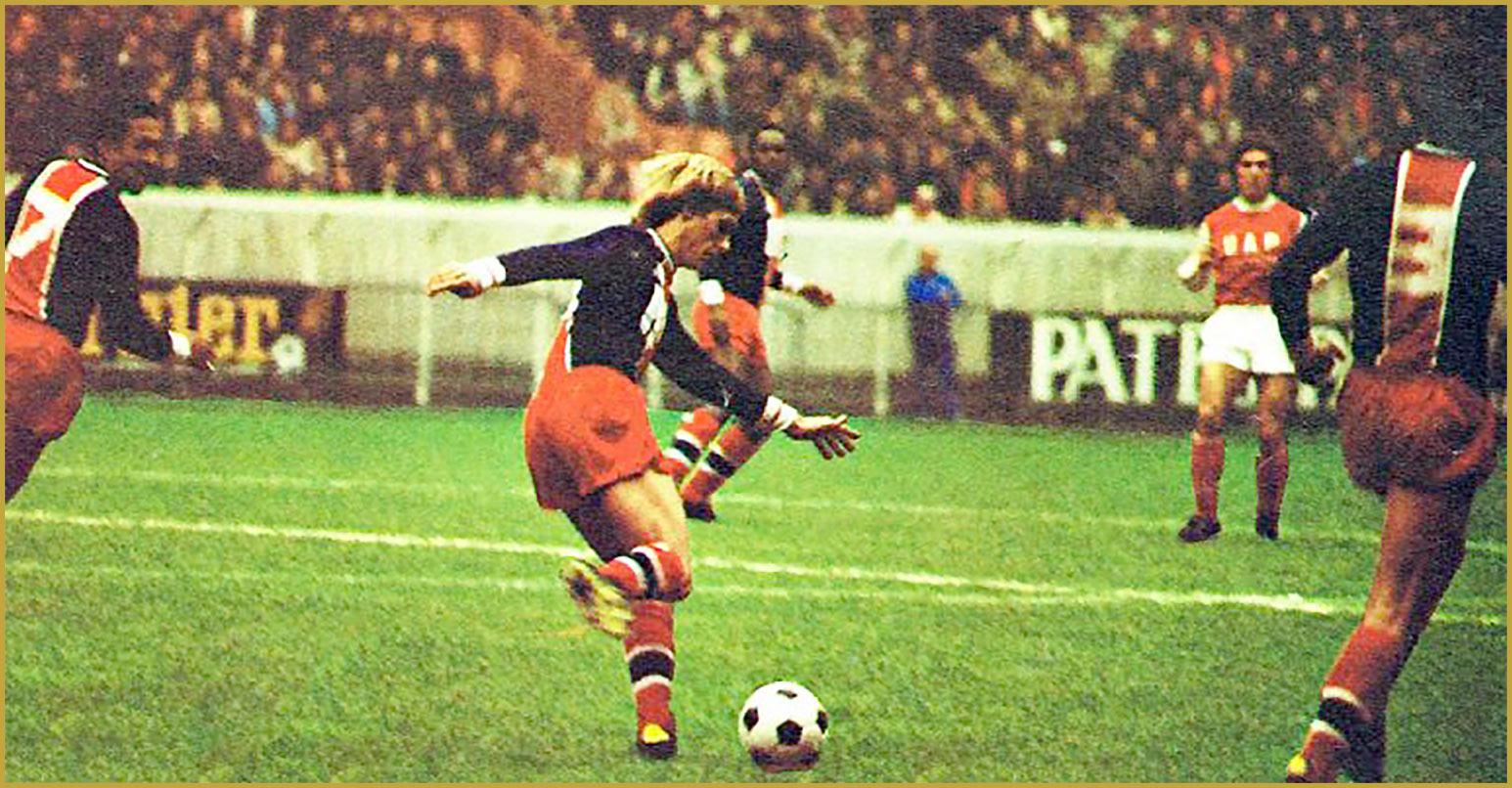 Lionel Justier Virage PSG