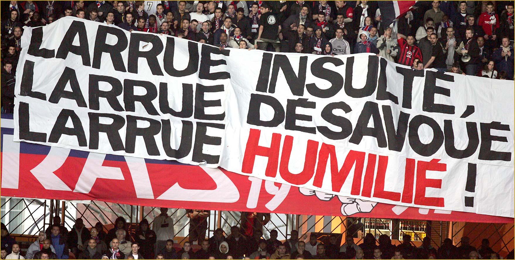 Supras Auteuil Virage PSG