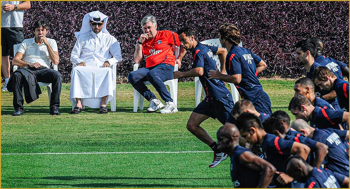 Nasser leo Carlo Virage PSG