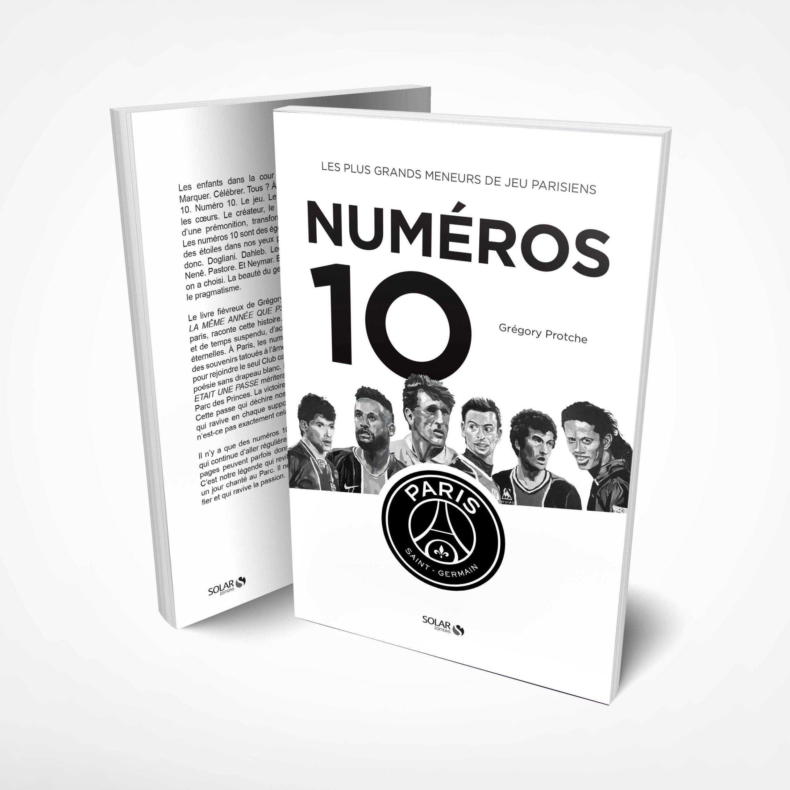 Numéros 10 Virage PSG