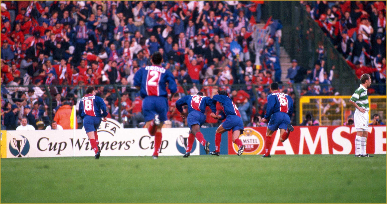 Hugues Renson Virage PSG Ngotty PSG Rapid de Vienne 1996