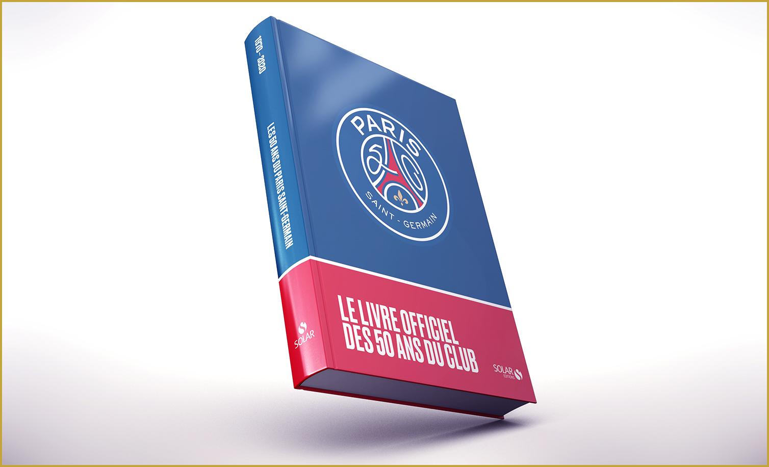 Livre 50 ans PSG Virage
