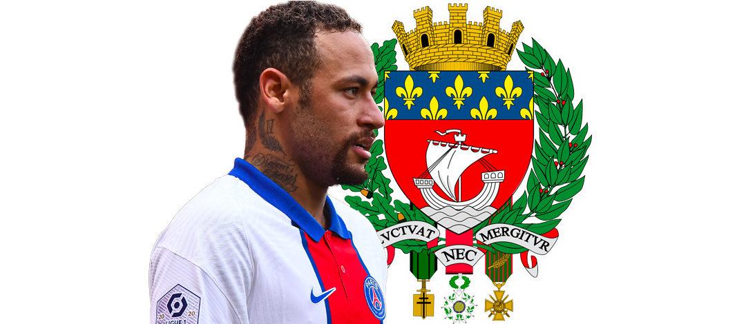 Neymar Virage PSG